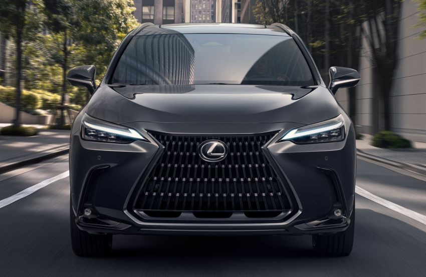 2022 Lexus NX officially revealed – second-gen SUV gets PHEV, 2.4 Turbo; new rear logo, interior concept Image #1306382