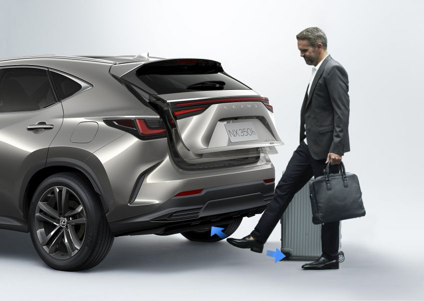 2022 Lexus NX officially revealed – second-gen SUV gets PHEV, 2.4 Turbo; new rear logo, interior concept Image #1306455