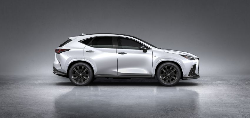 2022 Lexus NX officially revealed – second-gen SUV gets PHEV, 2.4 Turbo; new rear logo, interior concept Image #1306457