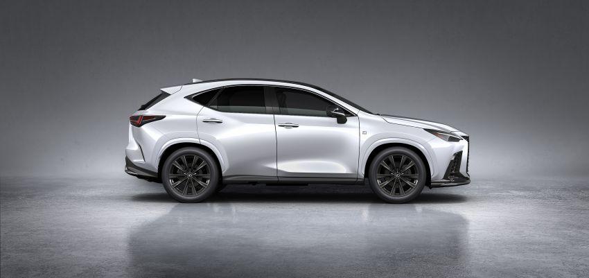 Lexus NX 2022 didedah – generasi kedua dirombak sepenuhnya, dapat enjin hibrid, PHEV dan 2.4 Turbo Image #1306921