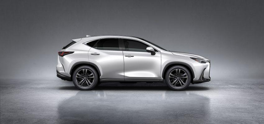 Lexus NX 2022 didedah – generasi kedua dirombak sepenuhnya, dapat enjin hibrid, PHEV dan 2.4 Turbo Image #1306923