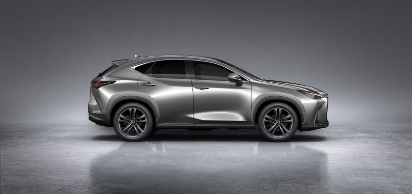 2022 Lexus NX officially revealed – second-gen SUV gets PHEV, 2.4 Turbo; new rear logo, interior concept Image #1306459