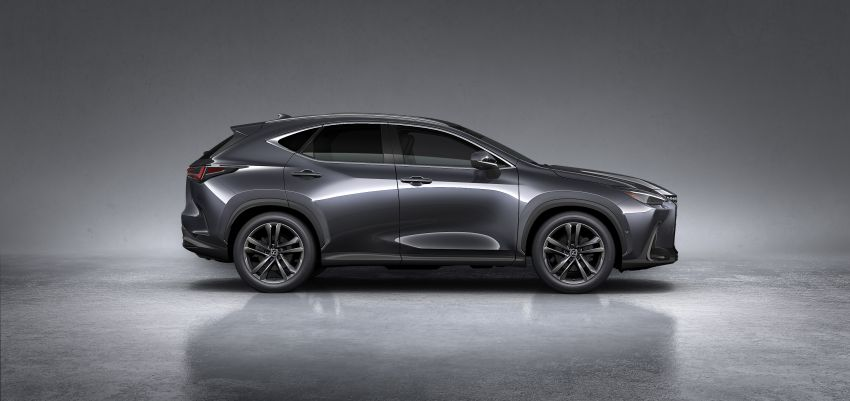2022 Lexus NX officially revealed – second-gen SUV gets PHEV, 2.4 Turbo; new rear logo, interior concept Image #1306460