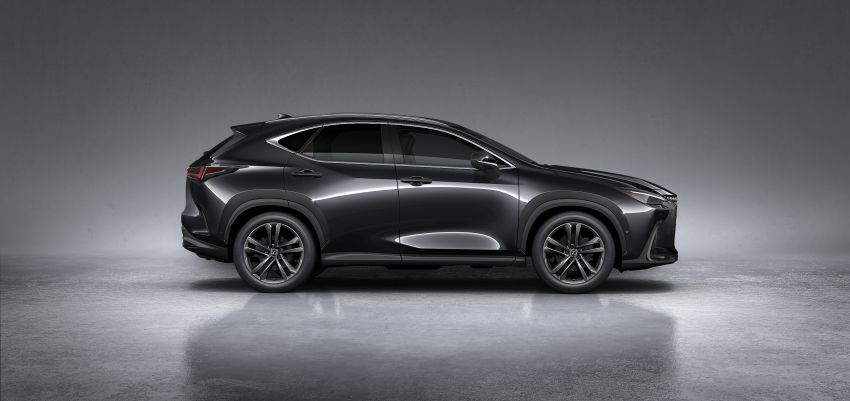 2022 Lexus NX officially revealed – second-gen SUV gets PHEV, 2.4 Turbo; new rear logo, interior concept Image #1306462