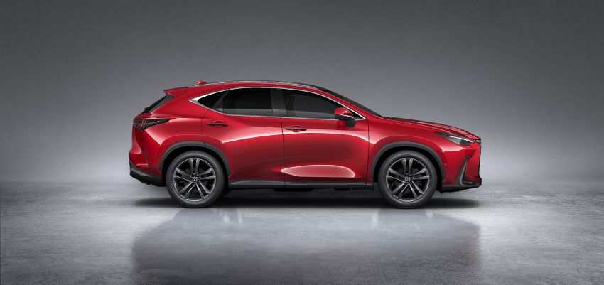 2022 Lexus NX officially revealed – second-gen SUV gets PHEV, 2.4 Turbo; new rear logo, interior concept Image #1306463