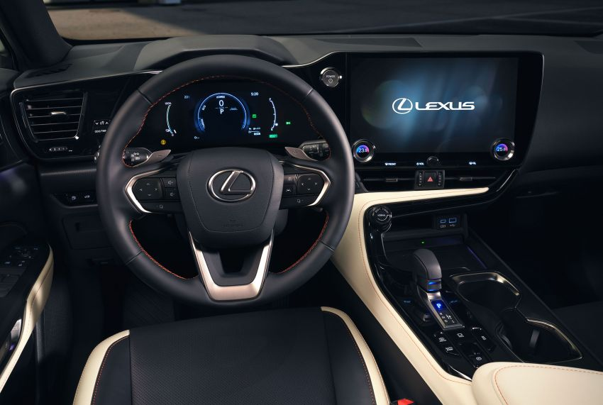 2022 Lexus NX officially revealed – second-gen SUV gets PHEV, 2.4 Turbo; new rear logo, interior concept Image #1306383