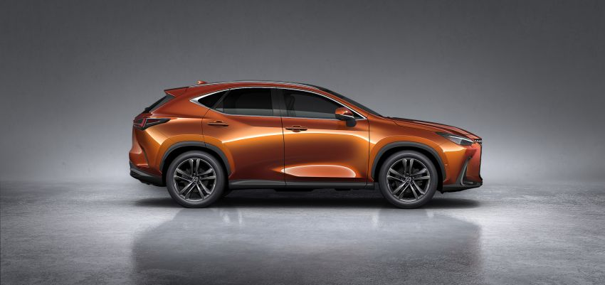 2022 Lexus NX officially revealed – second-gen SUV gets PHEV, 2.4 Turbo; new rear logo, interior concept Image #1306464