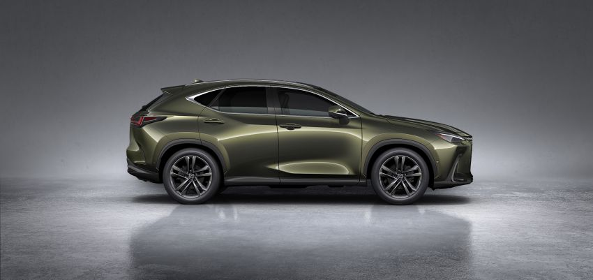 2022 Lexus NX officially revealed – second-gen SUV gets PHEV, 2.4 Turbo; new rear logo, interior concept Image #1306465