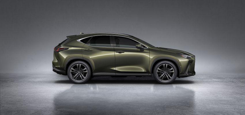 Lexus NX 2022 didedah – generasi kedua dirombak sepenuhnya, dapat enjin hibrid, PHEV dan 2.4 Turbo Image #1306930
