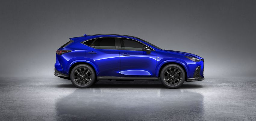Lexus NX 2022 didedah – generasi kedua dirombak sepenuhnya, dapat enjin hibrid, PHEV dan 2.4 Turbo Image #1306931