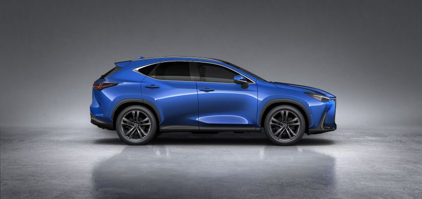 2022 Lexus NX officially revealed – second-gen SUV gets PHEV, 2.4 Turbo; new rear logo, interior concept Image #1306467