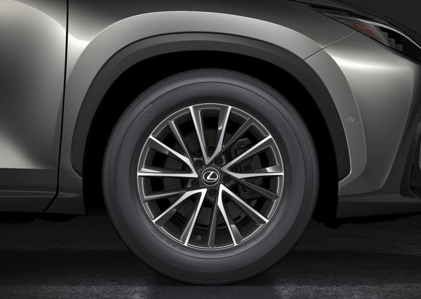 Lexus NX 2022 didedah – generasi kedua dirombak sepenuhnya, dapat enjin hibrid, PHEV dan 2.4 Turbo Image #1306933