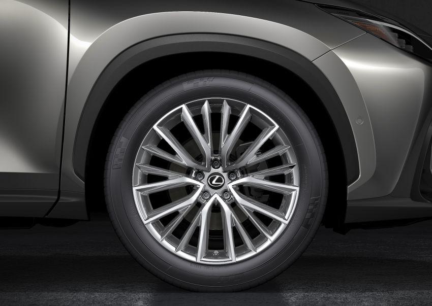 Lexus NX 2022 didedah – generasi kedua dirombak sepenuhnya, dapat enjin hibrid, PHEV dan 2.4 Turbo Image #1306934