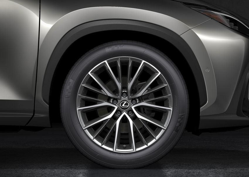 Lexus NX 2022 didedah – generasi kedua dirombak sepenuhnya, dapat enjin hibrid, PHEV dan 2.4 Turbo Image #1306935