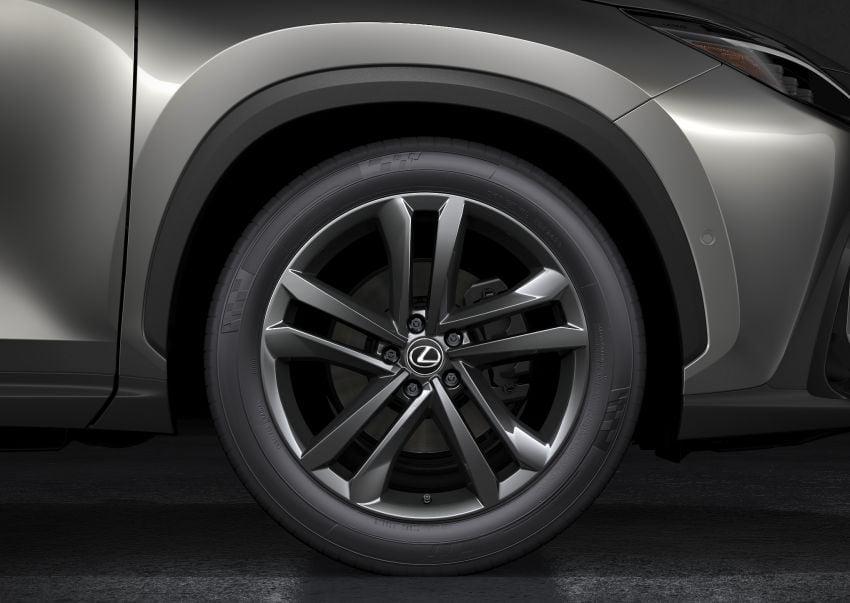 Lexus NX 2022 didedah – generasi kedua dirombak sepenuhnya, dapat enjin hibrid, PHEV dan 2.4 Turbo Image #1306936