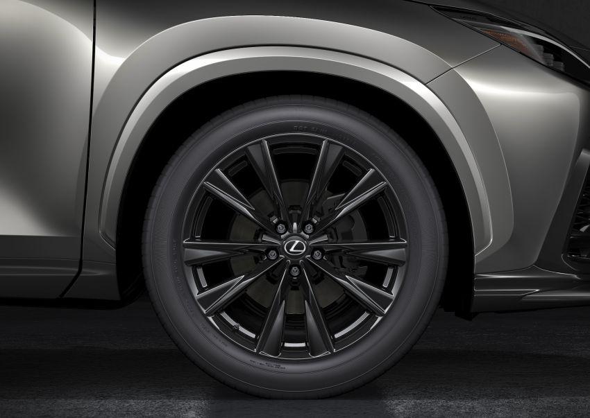 Lexus NX 2022 didedah – generasi kedua dirombak sepenuhnya, dapat enjin hibrid, PHEV dan 2.4 Turbo Image #1306937