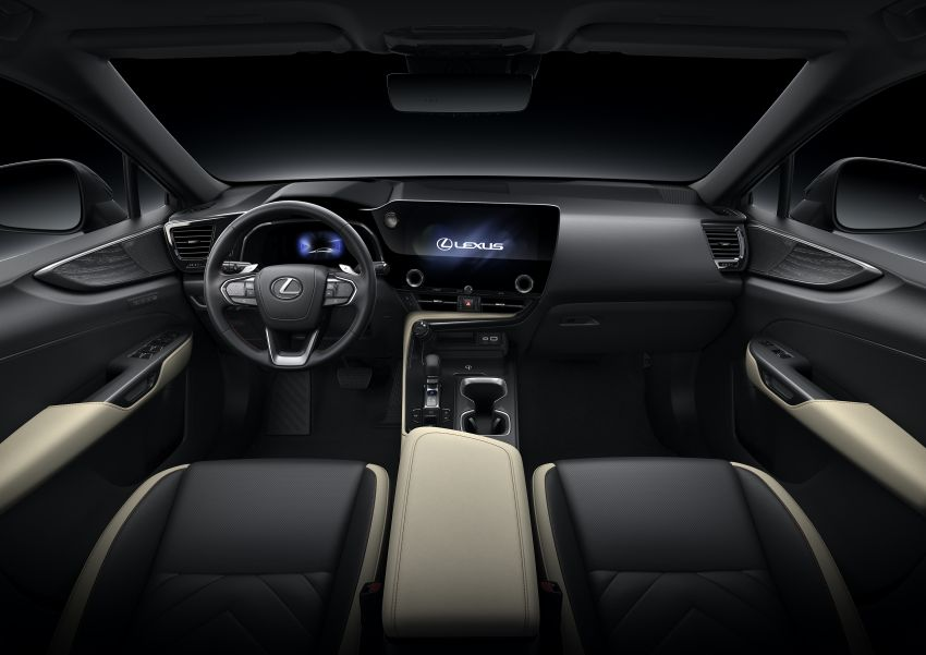 2022 Lexus NX officially revealed – second-gen SUV gets PHEV, 2.4 Turbo; new rear logo, interior concept Image #1306474
