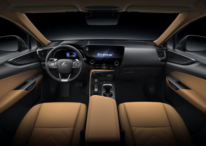 Lexus NX 2022 didedah – generasi kedua dirombak sepenuhnya, dapat enjin hibrid, PHEV dan 2.4 Turbo Image #1306940