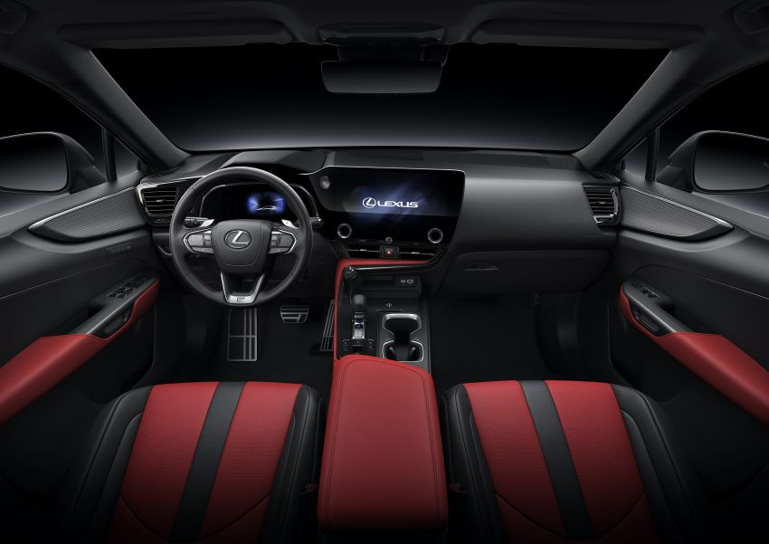 2022 Lexus NX officially revealed – second-gen SUV gets PHEV, 2.4 Turbo; new rear logo, interior concept Image #1306476