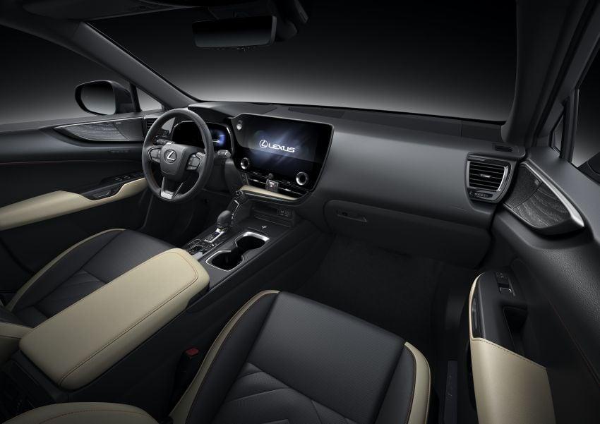 Lexus NX 2022 didedah – generasi kedua dirombak sepenuhnya, dapat enjin hibrid, PHEV dan 2.4 Turbo Image #1306942
