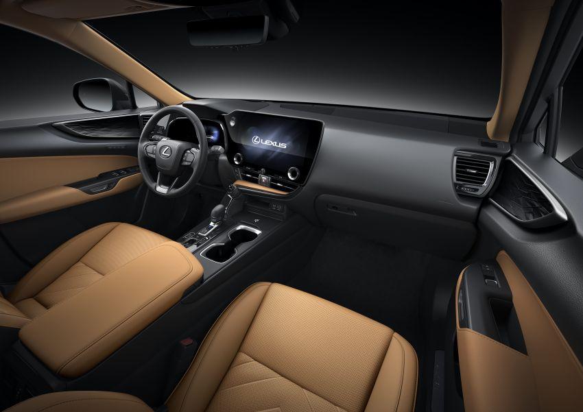 Lexus NX 2022 didedah – generasi kedua dirombak sepenuhnya, dapat enjin hibrid, PHEV dan 2.4 Turbo Image #1306943