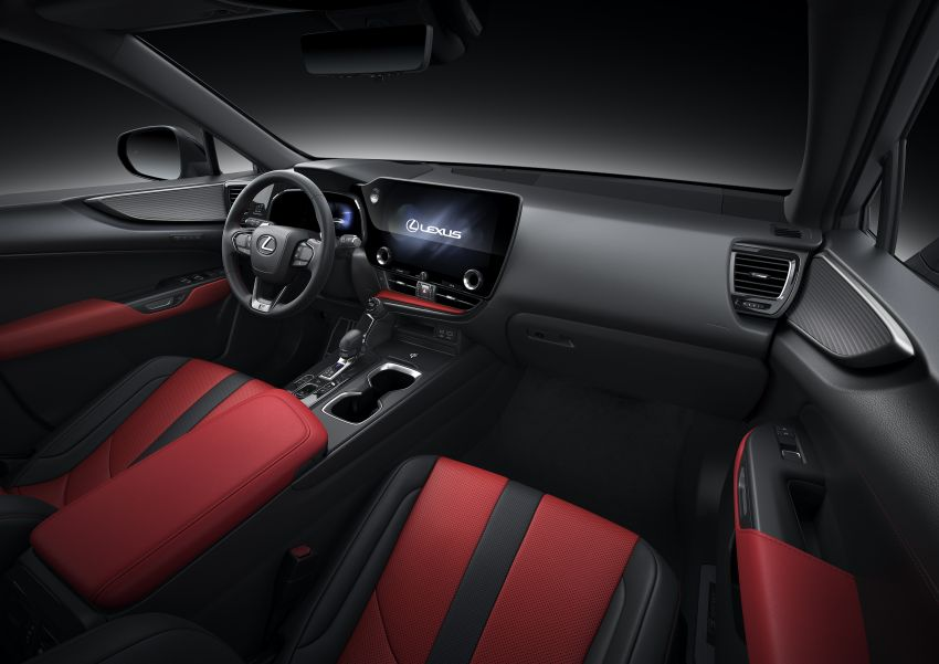 Lexus NX 2022 didedah – generasi kedua dirombak sepenuhnya, dapat enjin hibrid, PHEV dan 2.4 Turbo Image #1306944