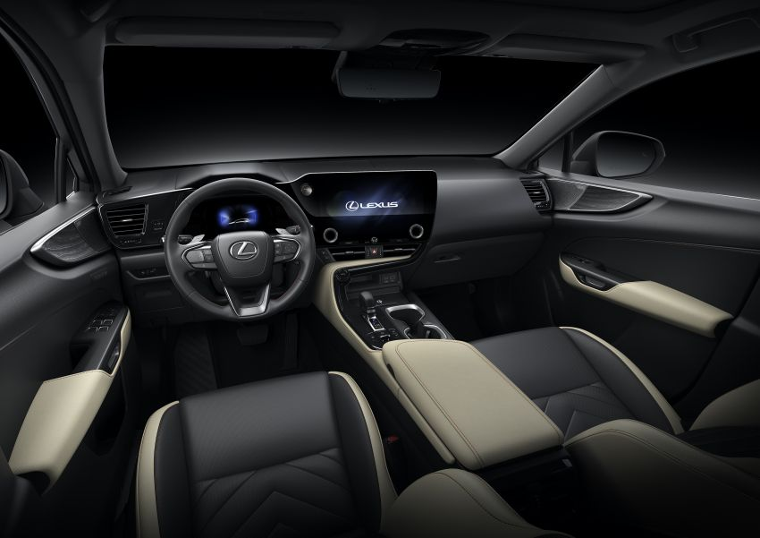 2022 Lexus NX officially revealed – second-gen SUV gets PHEV, 2.4 Turbo; new rear logo, interior concept Image #1306480