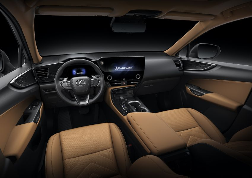 2022 Lexus NX officially revealed – second-gen SUV gets PHEV, 2.4 Turbo; new rear logo, interior concept Image #1306481