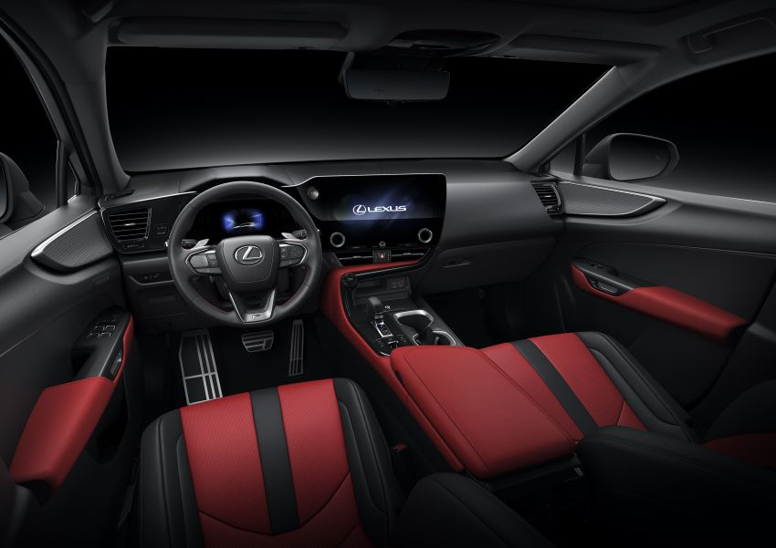 2022 Lexus NX officially revealed – second-gen SUV gets PHEV, 2.4 Turbo; new rear logo, interior concept Image #1306482