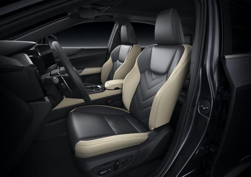Lexus NX 2022 didedah – generasi kedua dirombak sepenuhnya, dapat enjin hibrid, PHEV dan 2.4 Turbo Image #1306949