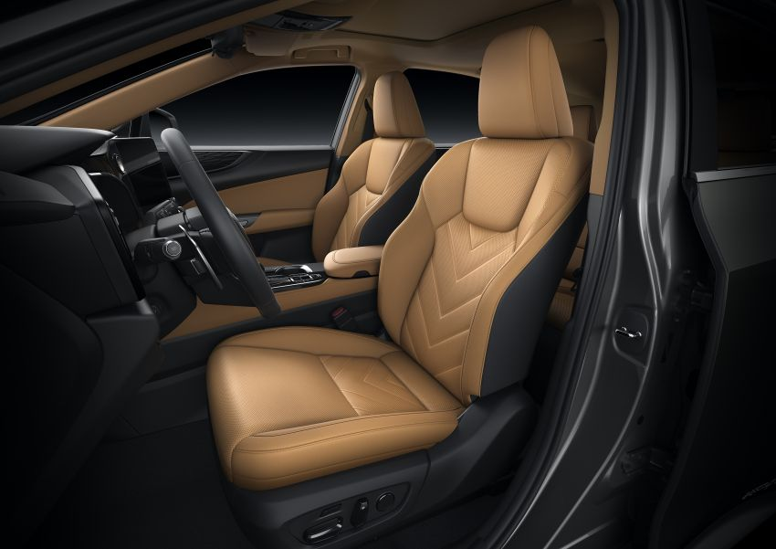 Lexus NX 2022 didedah – generasi kedua dirombak sepenuhnya, dapat enjin hibrid, PHEV dan 2.4 Turbo Image #1306950