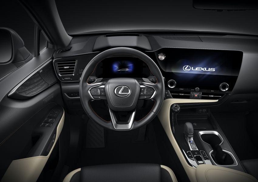 Lexus NX 2022 didedah – generasi kedua dirombak sepenuhnya, dapat enjin hibrid, PHEV dan 2.4 Turbo Image #1306962