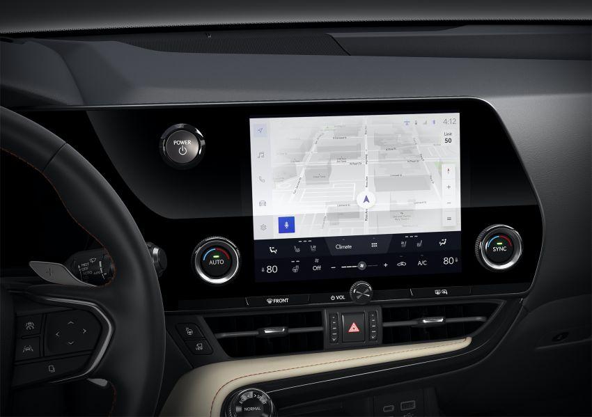 Lexus NX 2022 didedah – generasi kedua dirombak sepenuhnya, dapat enjin hibrid, PHEV dan 2.4 Turbo Image #1306968