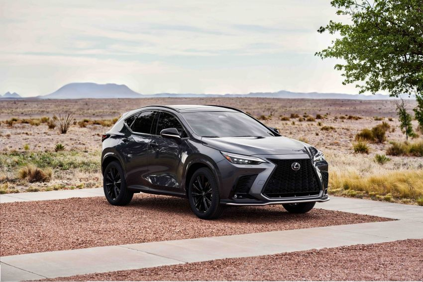 2022 Lexus NX officially revealed – second-gen SUV gets PHEV, 2.4 Turbo; new rear logo, interior concept Image #1306568