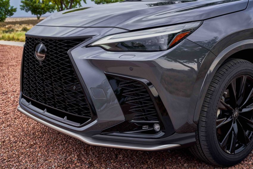 2022 Lexus NX officially revealed – second-gen SUV gets PHEV, 2.4 Turbo; new rear logo, interior concept Image #1306569