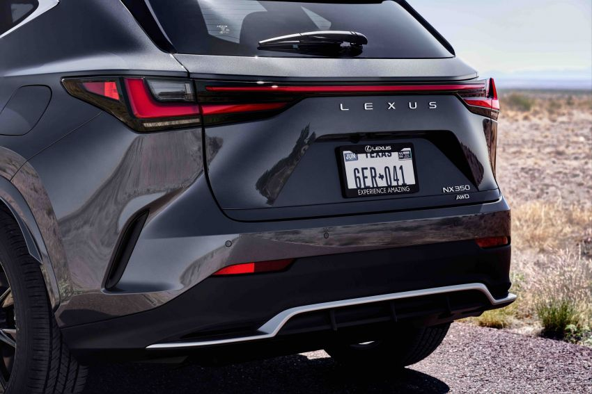 2022 Lexus NX officially revealed – second-gen SUV gets PHEV, 2.4 Turbo; new rear logo, interior concept Image #1306572