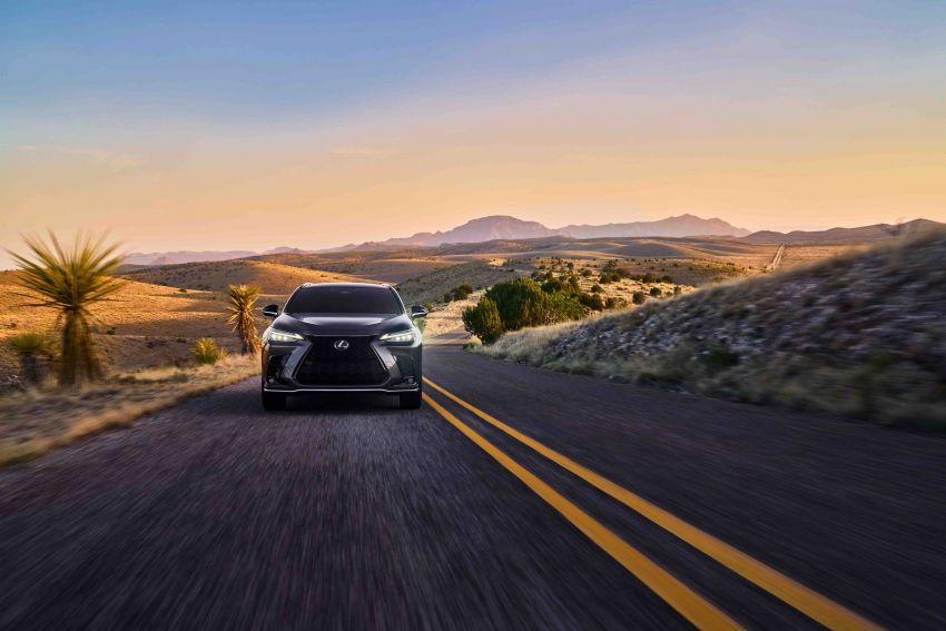 2022 Lexus NX officially revealed – second-gen SUV gets PHEV, 2.4 Turbo; new rear logo, interior concept Image #1306576