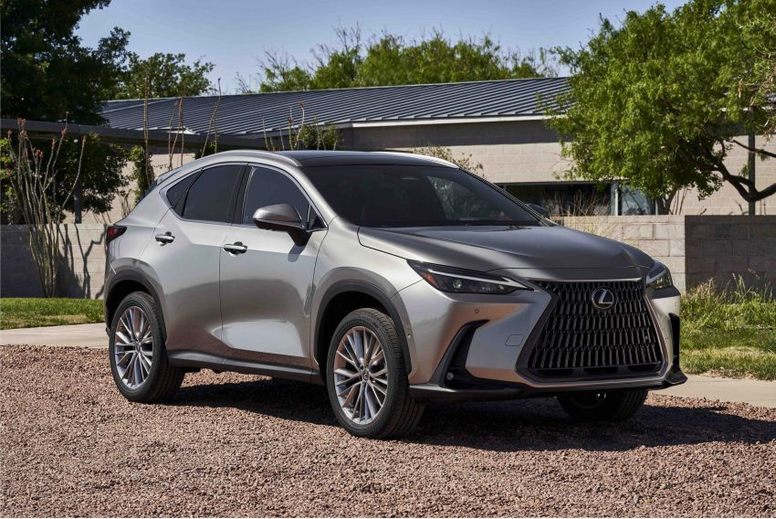 2022 Lexus NX officially revealed – second-gen SUV gets PHEV, 2.4 Turbo; new rear logo, interior concept Image #1306579
