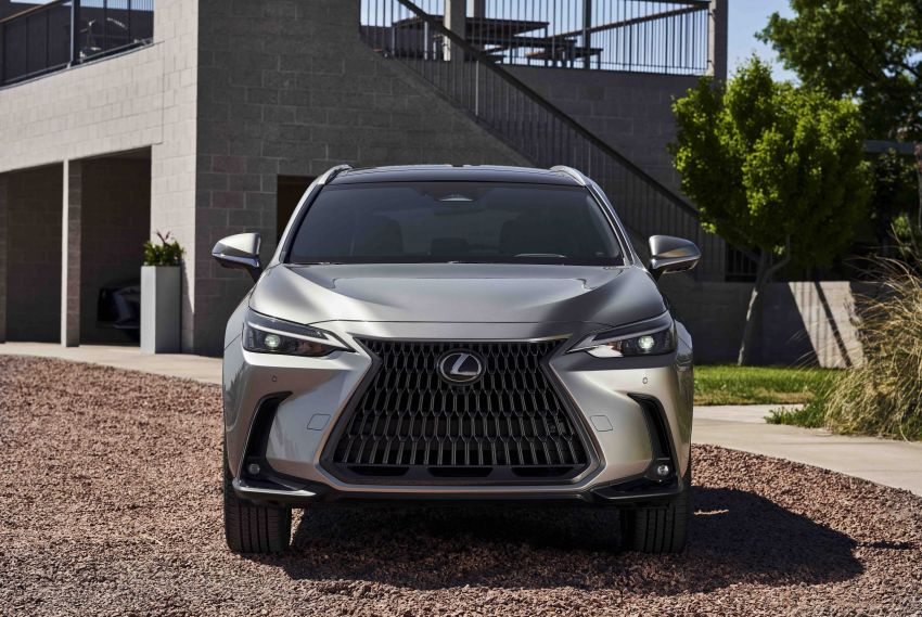 2022 Lexus NX officially revealed – second-gen SUV gets PHEV, 2.4 Turbo; new rear logo, interior concept Image #1306580