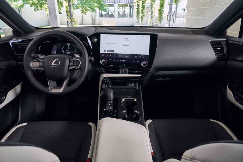 2022 Lexus NX officially revealed – second-gen SUV gets PHEV, 2.4 Turbo; new rear logo, interior concept Image #1306584