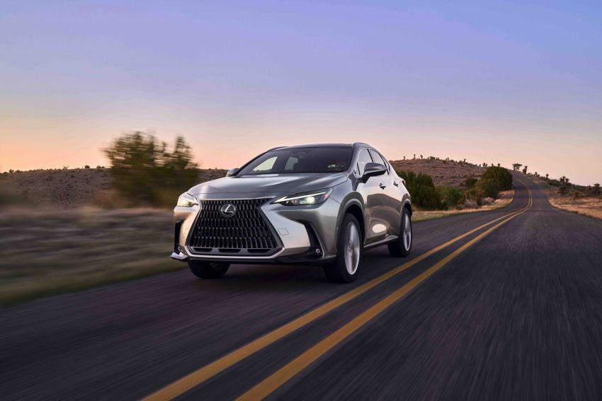 2022 Lexus NX officially revealed – second-gen SUV gets PHEV, 2.4 Turbo; new rear logo, interior concept Image #1306589