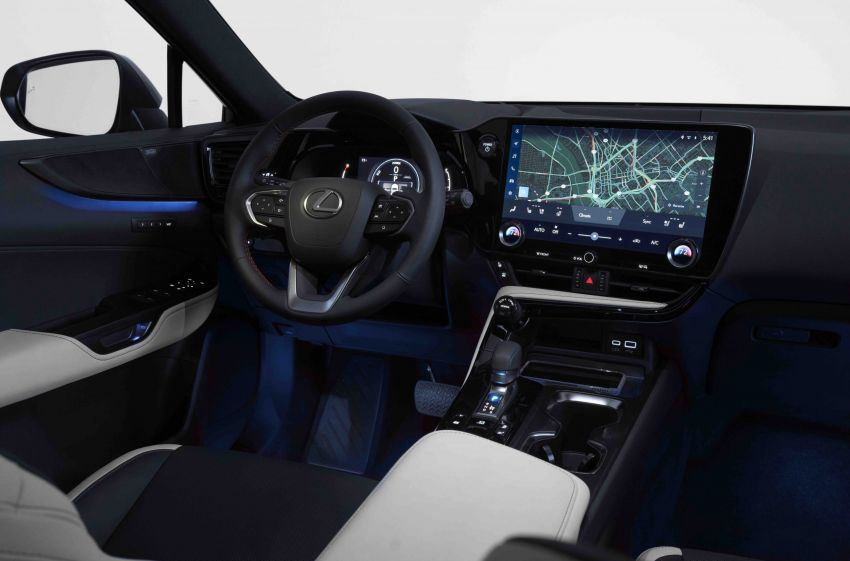2022 Lexus NX officially revealed – second-gen SUV gets PHEV, 2.4 Turbo; new rear logo, interior concept Image #1306592