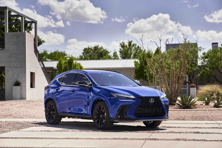 2022 Lexus NX officially revealed – second-gen SUV gets PHEV, 2.4 Turbo; new rear logo, interior concept Image #1306595