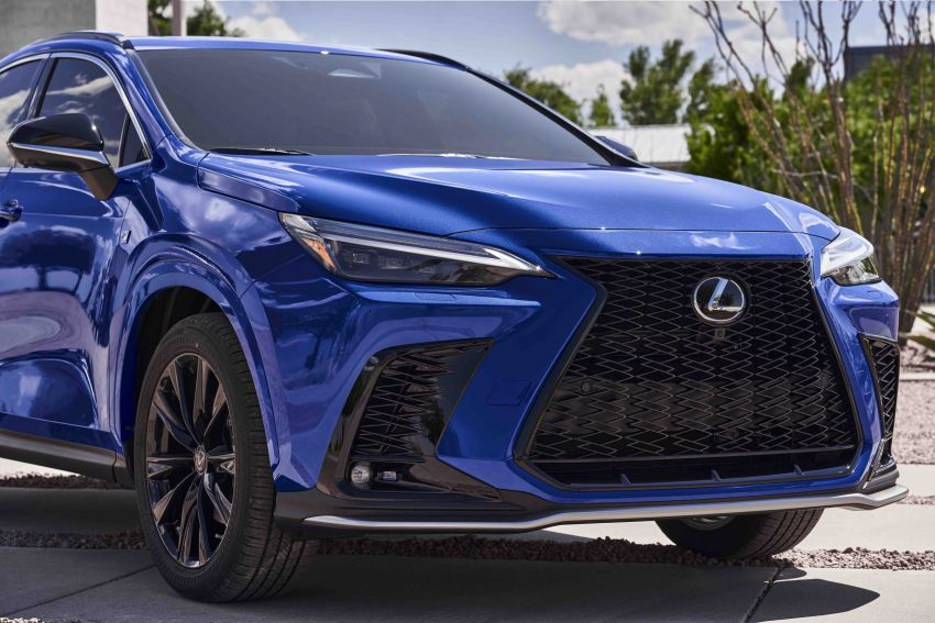 2022 Lexus NX officially revealed – second-gen SUV gets PHEV, 2.4 Turbo; new rear logo, interior concept Image #1306596