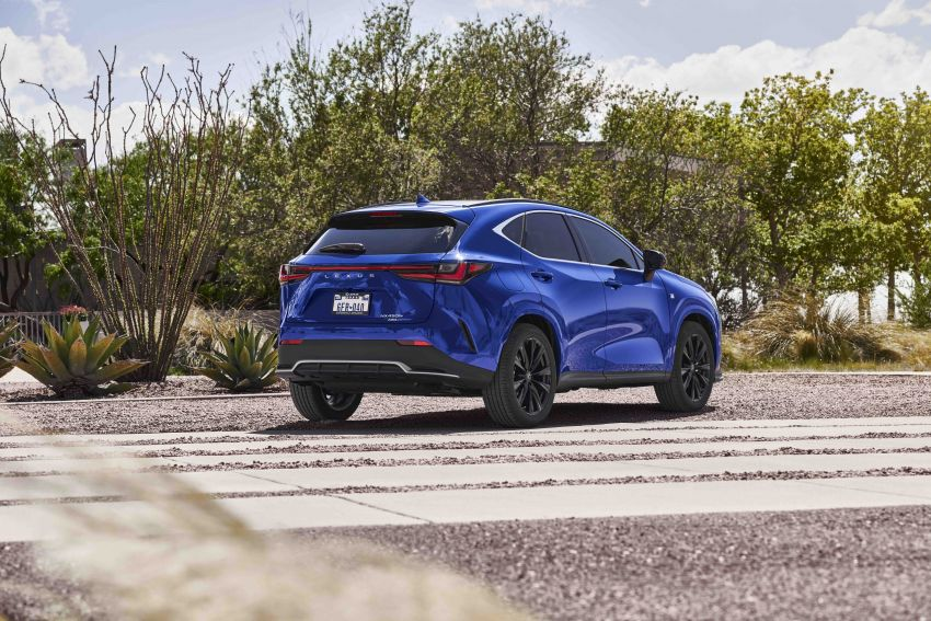 2022 Lexus NX officially revealed – second-gen SUV gets PHEV, 2.4 Turbo; new rear logo, interior concept Image #1306601