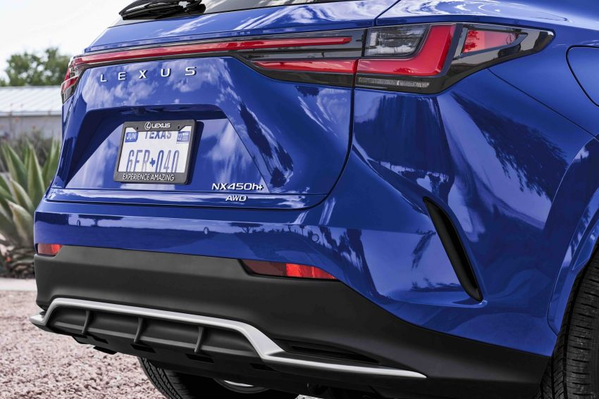 2022 Lexus NX officially revealed – second-gen SUV gets PHEV, 2.4 Turbo; new rear logo, interior concept Image #1306603