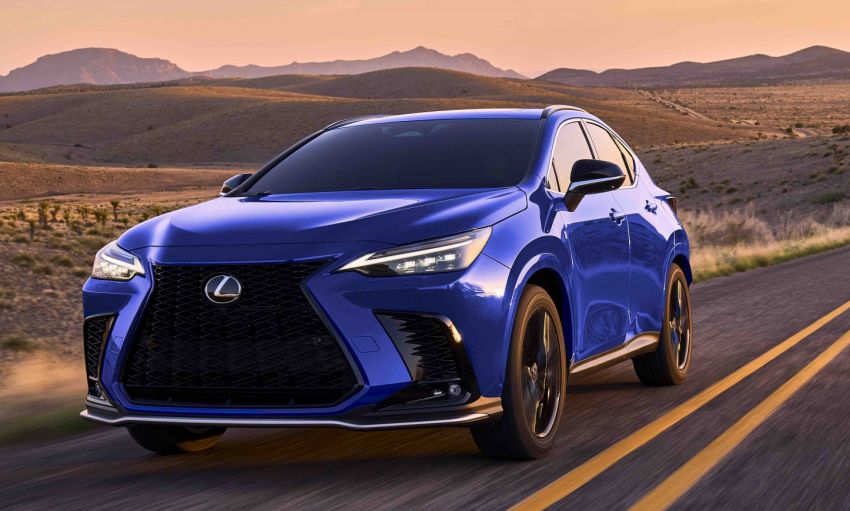 2022 Lexus NX officially revealed – second-gen SUV gets PHEV, 2.4 Turbo; new rear logo, interior concept Image #1306604