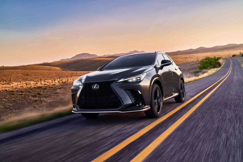 2022 Lexus NX officially revealed – second-gen SUV gets PHEV, 2.4 Turbo; new rear logo, interior concept Image #1306605