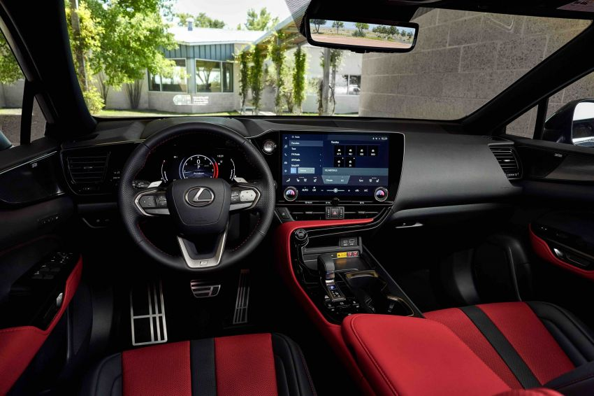 2022 Lexus NX officially revealed – second-gen SUV gets PHEV, 2.4 Turbo; new rear logo, interior concept Image #1306562