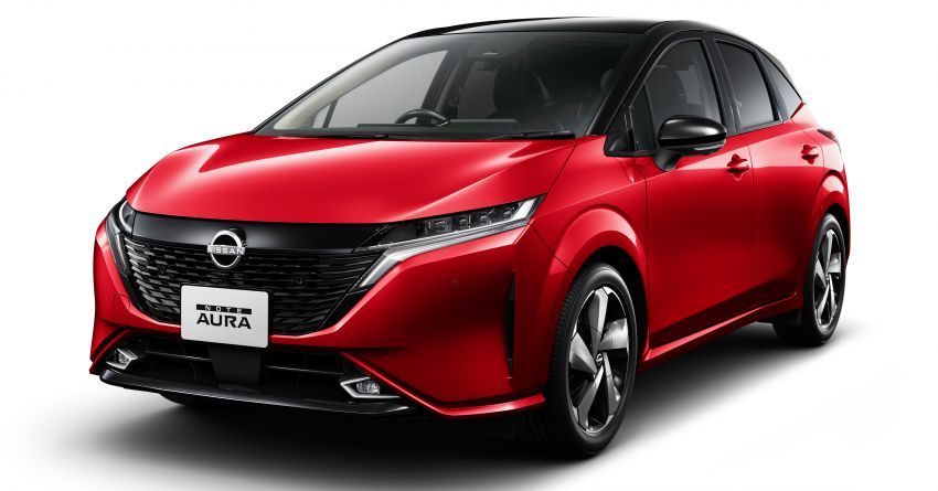 2022 Nissan Note Aura launched in Japan – design tweaks, premium kit, AWD and FWD e-Power setups Image #1307580
